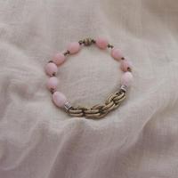 イチゴミルクのピンクオパールのブレスレット - 吉屋 Photo Blog