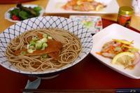 赤魚南蛮漬け&蕎麦ランチとおやつ - 音楽・スィーツ・そしてBoston