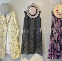「春夏の洋服と帽子展」開催中です。 - Gallery福田