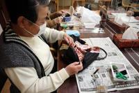 リメイク手芸~ ネクタイのグラニーバッグ ~ - 鎌倉のデイサービス「やと」のブログ