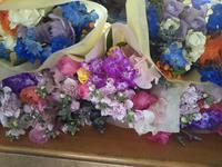 卒園式の花束 - ブランシュのはなたち