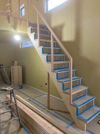 KAWさんち階段設置手すり取り付け - くのさんち