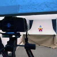 トーマス・ノスケ銀鏡塗装版の撮影風景です - 下呂温泉 留之助商店 店主のブログ