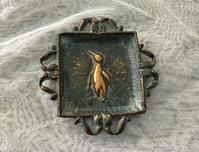 銅製ペンギンの小皿 - スペイン・バルセロナ・アンティーク gyu's shop