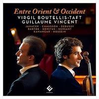 ヴィルジル・ブテリ=タフトのデビュー盤『Entre Orient and Occident (東洋と西洋の間で)』 - 天浪堂日乗