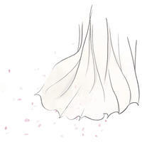 春風【オリジナルイラスト】 - 女性誌を中心に活動するイラストレーター清水利江子の仕事ブログ