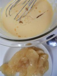 林檎のチーズケーキその2 - Petit à petit(プチ・タ・プチ)