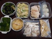 週末の常備菜づくり(210321) - ふたりで暮らす