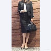 【40代ママ】卒業式はツイードスーツで - 暮らしの美活