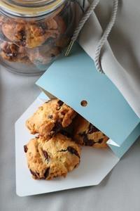 チョコチャンククッキー & ワッフル - パンとお菓子と子供の笑顔