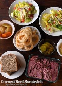 ライ麦パンでコーンビーフ・サンドイッチ - Kyoko's Backyard ~アメリカで田舎暮らし~