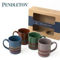 PENDLETON [ペンドルトン] Ceramic Mug Set (CAMP Stripe Collection) [19377307] コーヒーマグセット - refalt blog