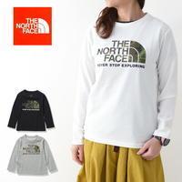 THE NORTH FACE [ザ ノースフェイス正規代理店] Ks L/S Camo Logo Tee [NTJ32144] ドームグラフィックティー・ KIDS・ロンT・LADY'S - refalt blog