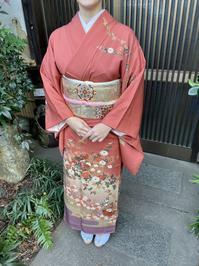 素敵な訪問着姿でお出かけです。 - 京都嵐山 着物レンタル「遊月」・・・徒然日記