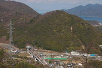 行者堂俯瞰(2021/03/25) - まるさん徒歩PHOTO 4:SLやまぐち号・山風景など…。 (2018.10.9~)
