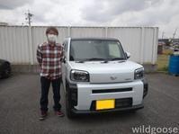 祝☆納車LA900Sタフトお買い上げありがとうございます(*゚▽゚) - ★豊田市の車屋さん★ワイルドグース日記