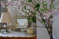 枝垂れ桜とインテリアとお菓子 - 暮らしを紡ぐ2