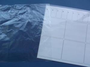 アクリル絵の具を使用する手作りパレット -