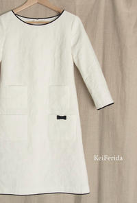 オーダーのお洋服  ジャガード織りのワンピース - KeiFerida