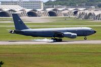 KC-135Rのタッチアンドゴー - 南の島の飛行機日記