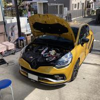 ルーテシア4 RS トロフィー アーシング施工 - 「ワッキーの自動車実験教室」 ワッキー@日記でごじゃる