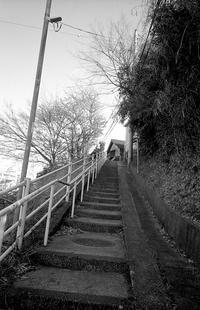 切通しの階段 - そぞろ歩きの記憶