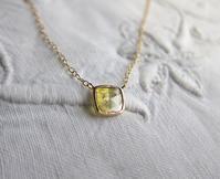 スライスダイヤモンドネックレスを作り変えました - hiroe  jewelryつくり
