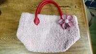 Kさんのキティちゃんバッグとジーンズバッグ - 手染めと糸のワークショップ