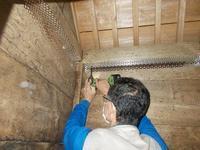 日吉神社の扉工事、連絡階段基礎工事 - お父さんのやきとり屋さん日記