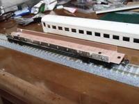 16番紙製スハ43 2輌目 その23 床板製作 - 新湘南電鐵 横濱工廠3