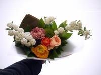 送別の花束。中の島1条にお届け。2021/03/26。 - 札幌 花屋 meLL flowers