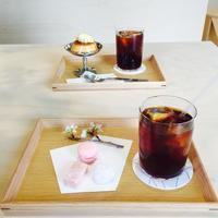 カフェにも桜・・洗足池 AOI COFFEE アオイコーヒー - ハレクラニな毎日Ⅱ
