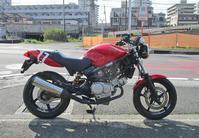 H原サン号 VTR250にYSSリアショックを投入&ハンドル交換・・・!(^^)! - バイクパーツ買取・販売&バイクバッテリーのフロントロウ!