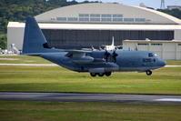C-130のランディング - 南の島の飛行機日記