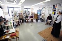 一般クラス2021年3月テーマ「女性剣士を描く」ご紹介 - 大阪の絵画教室|アトリエTODAY
