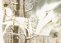 Павел Татарников画の「雪の女王」 - Books