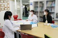 【病院見学】同窓生のお二人 - 長崎大学病院 医療教育開発センター  医師育成キャリア支援室