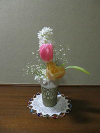 春の花と食を楽しむ - 活花生活(2)