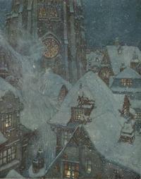エドマンド・デュラック画の「雪の女王」 - Books