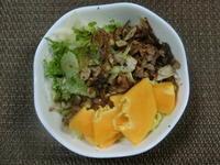 4月1日の生野菜サラダ - 食写記 ~Shokushaki's Blog~