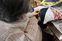裁縫~ パッチワーククッション ~ - 鎌倉のデイサービス「やと」のブログ