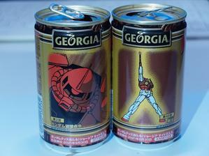 缶コーヒーはジョージア -