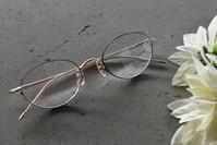透明感のある上品なレディースメガネ HUSKY NOISE(ハスキーノイズ)  H-168 Col.6 - メガネのノハラ イオン洛南店 Staff blog@nohara