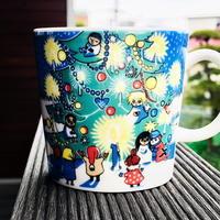 Moomin Christmas Mug / Arabia 2004, 2005 ムーミン マグカップ - @ interior space