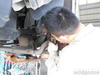 FB51ABXキャンタートラック車検整備中(≧∇≦*) - ★豊田市の車屋さん★ワイルドグース日記