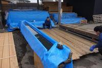 DIY下見板塗装杉の赤身 - SOLiD「無垢材セレクトカタログ」/ 材木店・製材所 新発田屋(シバタヤ)