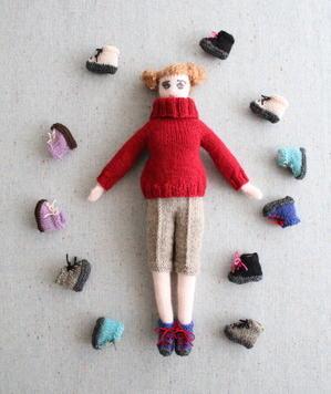 Keito's Hiking Shoes - Knit Doll Keito