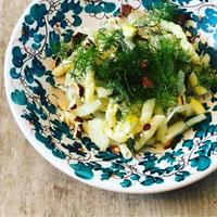 【ゆるレシピ】フェンネルのパスタとスープ、と明後日は復活祭 - 幸せなシチリアの食卓、時々にゃんこ