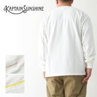 KAPTAIN SUNSHINE [キャプテンサンシャイン]West Coast L/S Tee [KS21SCS09] ウエストコースト ロングスリーブTEE・MEN'S - refalt blog