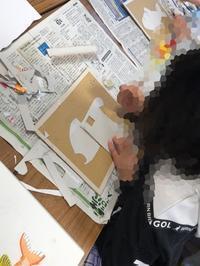 一宮教室、児童コース、工作してます。 - 大﨑造形絵画教室のブログ